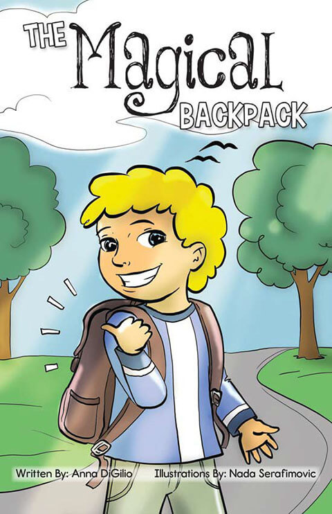 The Magical Backpack-front cover