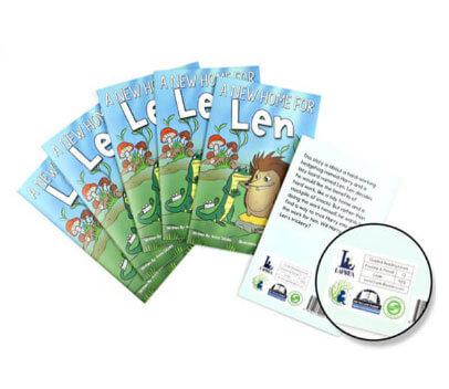 Professionally leveled books and text passages