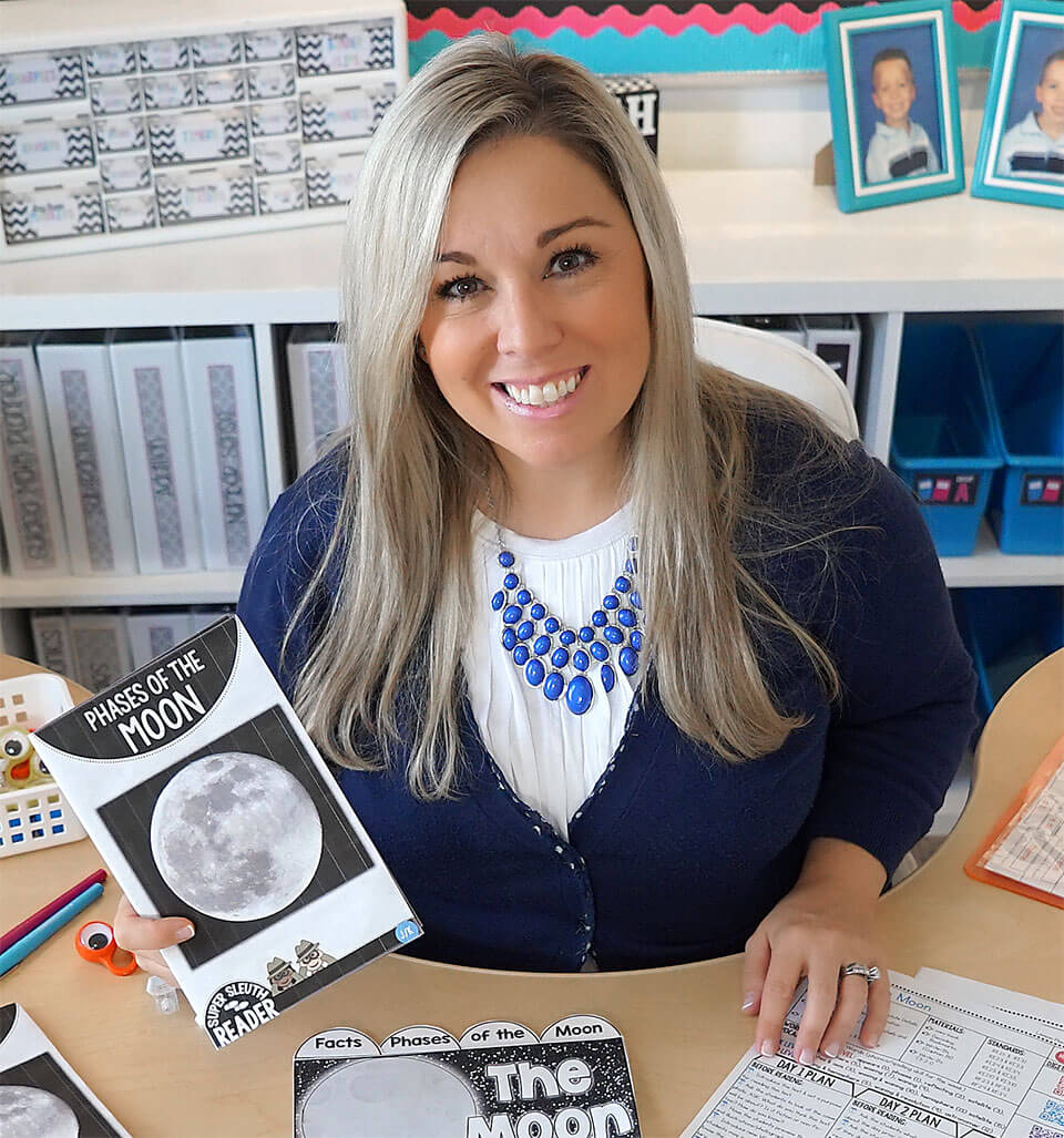 Photo of Anna Digilio, founder of Guided Readers